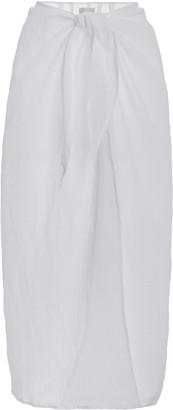 Anemos Ramie Maxi Wrap Skirt