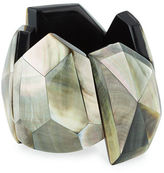 Viktoria Hayman Star Dust Faceted Cuff Bracelet