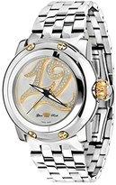 Glam Rock Women's summerTime 40mm Steel Bracelet & Case Swiss Quartz Silver-Tone Dial Watch GR40405SS