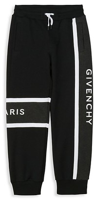 Givenchy Little Boy's & Boy's Logo Joggers