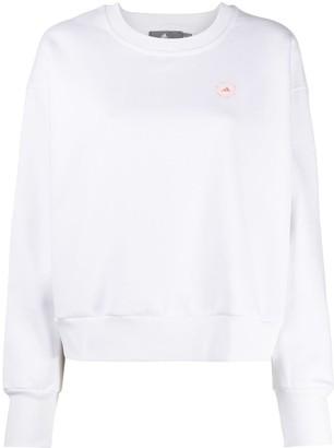 adidas by Stella McCartney Logo-Print Oversized Sweatshirt
