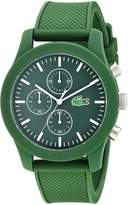 Lacoste Men's 2010822 12.12 Analog Display Japanese Quartz Watch