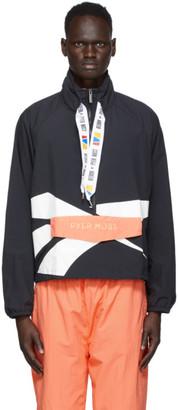Reebok by Pyer Moss Black Windbreaker Jacket