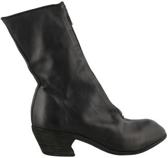 Guidi Front Zip High Heel Boots