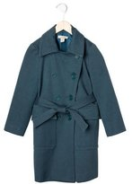 Stella McCartney Girls' Double-Breasted Belted Coat