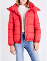 Closed Padded cotton-thinsulate bomber jacket
