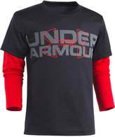 Under Armour Graphic-Print Slider Shirt, Little Boys