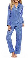 Lauren Ralph Lauren Striped Sateen Pajamas