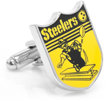 Ice Vintage Pittsburgh Steelers Cufflinks