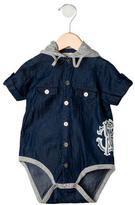 Roberto Cavalli Boys' Denim Bodysuit
