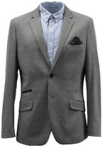 Men's Harry Brown Grey Viscose Blend Blazer 44S