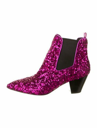 Marc Jacobs Chelsea Boots Pink