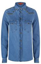 Hilfiger Collection Chambray Western Shirt