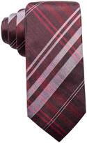 Ryan Seacrest Distinction Men's Turn Plaid Slim Silk Tie, Created for Macy's