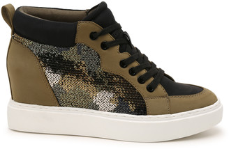 Mix No. 6 Women's Baako Wedges Sneakers Prints Abstract Size 5 Faux leather / sequin fabric From Sole Society