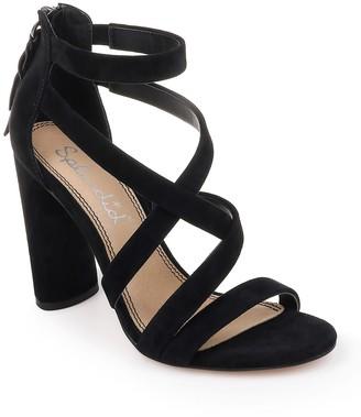 Splendid Stuart Suede Block Heel Sandal