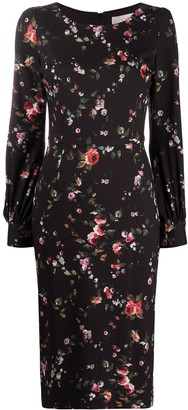 Goat Karis floral print dress