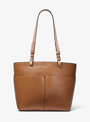 MICHAEL Michael Kors MK Bedford Medium Pebbled Leather Tote - Luggage Brown - Michael Kors