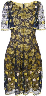 Talbot Runhof Lace Dress
