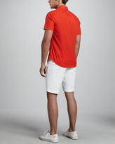 Vince Twill Trouser Shorts, White