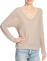 360 Sweater Sophia Cashmere V Neck Sweater