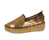 Andre Assous Metallic Leather Espadrille