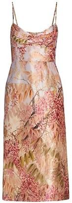 Zimmermann Wild Botanica Sheath Dress