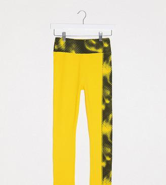 ASOS 4505 Tall side graphic crop legging