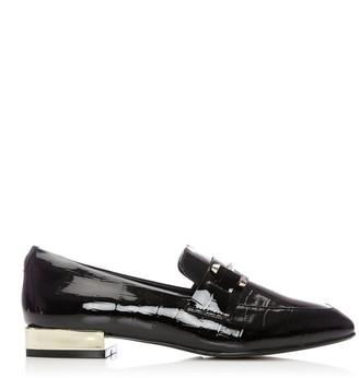 Moda In Pelle Francois Black Croc