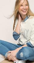 Esprit OUTLET edc - sequinned print sweatshirt