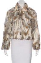 Adrienne Landau Fur Jacket