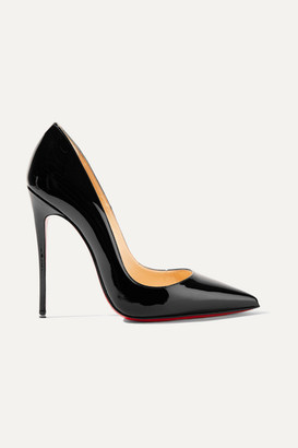 Christian Louboutin So Kate 120 Patent-leather Pumps - Black