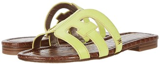 Sam Edelman Bay (Lime Cocktail Neon Texas Veg Leather) Women's Slide Shoes