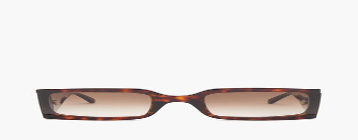 Celine Oversized Squared Tortoiseshell-acetate Sunglasses - Dark Brown