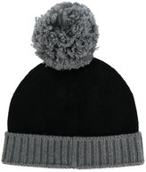 Eleventy pon pon beanie - men - Virgin Wool - One Size