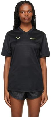 Nike Black Rafael Nadal Challenger T-Shirt