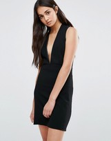 Redream Re:Dream Low Front Pinafore Dress With Low Back