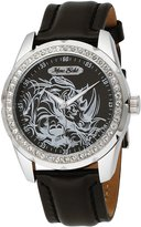 Ecko Unlimited Men's Supreme Leather Analog E95042G7 Leather Quartz Watch with Dial