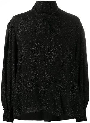 IRO Gretina dotted blouse