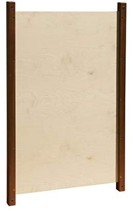 Inspirational Nurseries Outdoor Plain Dry Wipe Panel, Wood, Multi-Colour