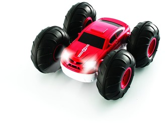 Sharper Image RC Flip Stunt Rally Car