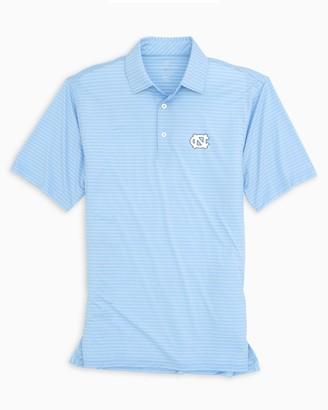 Southern Tide UNC Tar Heels BRRR Striped Polo Shirt