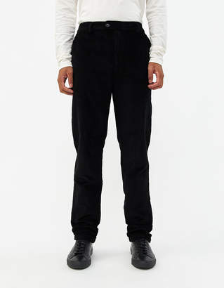 Need Mason Extended Tab Pant in Black Corduroy