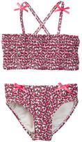 Hula Star Heads Up Two-Piece Bikini Set (Toddler & Little Girls)