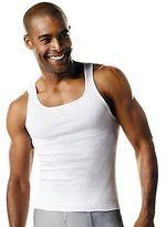 Hanes Men's Tall TAGLESS ComfortSoft Tank Undershirt 3-Pack Men's Shirts