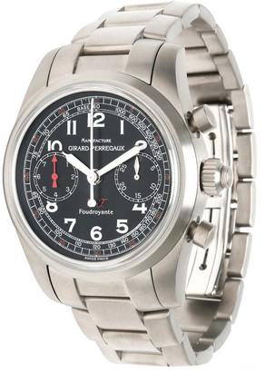 Girard Perregaux Black Titanium Ferrari Split 9020 Men's Wristwatch 40MM