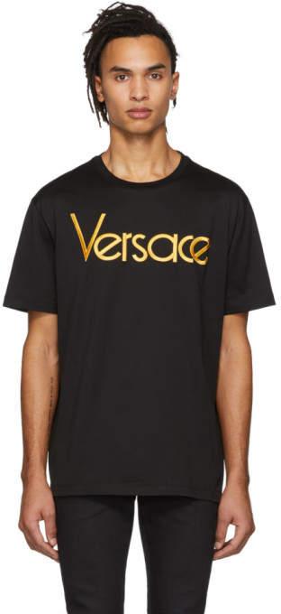 Versace Black Logo T-Shirt