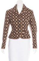 Moschino Jacquard Wool Jacket