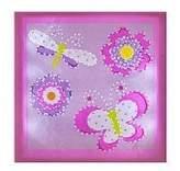 Little Boutique Light up Canvas Wall Art - Butterflies