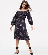LOFT Marigold Off The Shoulder Dress